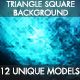 Triangle Square Background