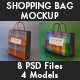 Basic Pack Paper Bag Mockup