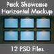 Horizontal Showcase Mockup